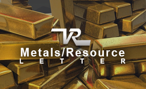 VR Metals/Resoruce Letter